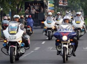 Pengawalan Polisi