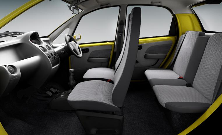 Interior Mobil Tata Nano